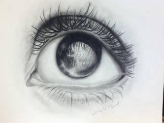 Eye Wish You a Happy Birthday by wendythewilf