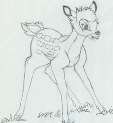 Bambi by wendythewilf