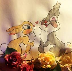 Bunnies by wendythewilf