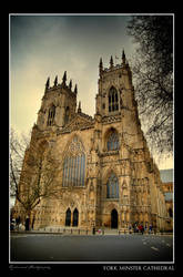 York Minster Cathedral by Centurionuk