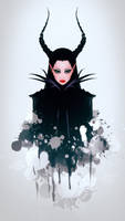 Maleficent by RiraR