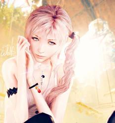 Serah Farron: Angelic by LoneWolf117