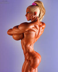 Barbie Pinup by Siberianar