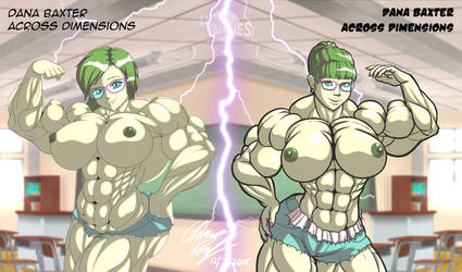 Hulk Girl Dana - Across Dimensions by LunarDiaries