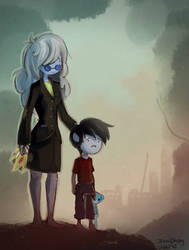 Forgive Me - Ice Queen + Marshall Lee by jeremyruihley