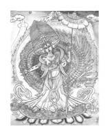 Ushnisha Sitatapatra by AgentPendergast
