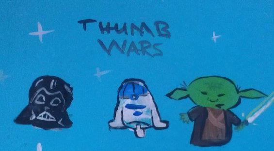 Thumb Wars by thelegendoftiffany