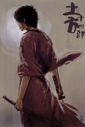 Hijikata Toshirou by ameij