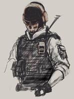 Ghost Sketch by ameij