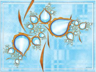 Blue Topaz Tango by FractalEyes