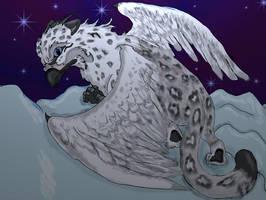 Snow Huntress by TallonRoe