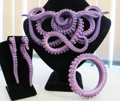 Violet Tentacle Set 2 by KTOctopus