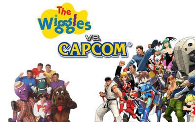 The Wiggles VS Capcom by mrlorgin
