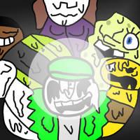 Friends Stick Together by kingamegamegame12