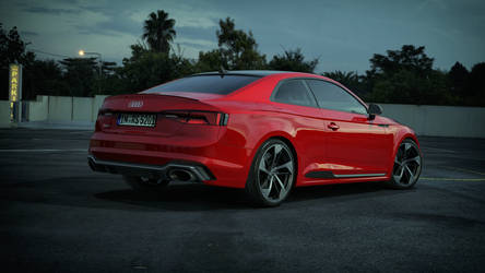 Audi RS5 2018 by SergioBL