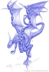 Dragon. moving. by White-Dragon-NL