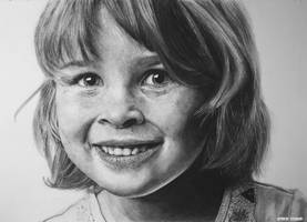 Hyperrealism. Janna. by keithmore2000