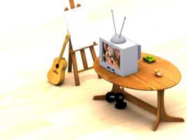 Forgotten items by zeustacos