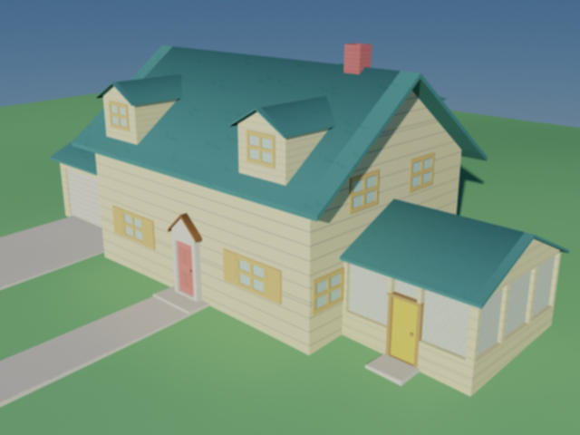 Family Guy - House WIP by zeustacos