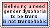 How is that transphobic? by opinionsNstamps