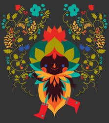 Bell Pepper - T Shirt design by LorenaAlvarez