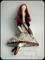 Boho ArtDoll - Antonina by Zashevka