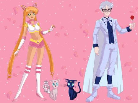 Sailor Senshi On Dolls Maker Paradise Deviantart