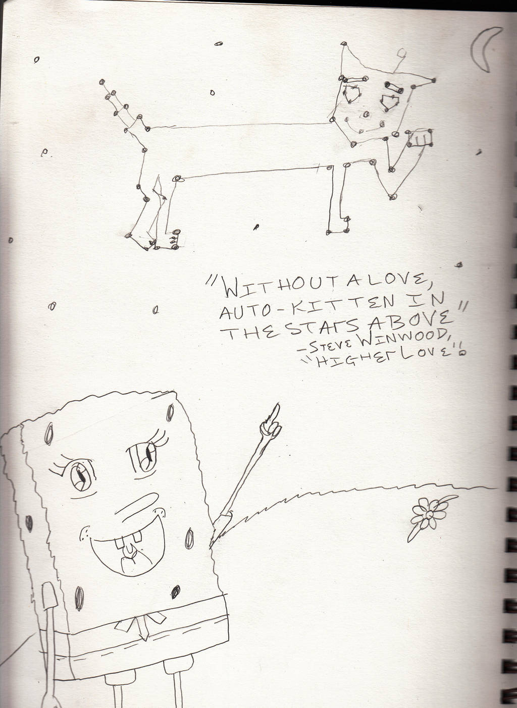 Spongebobs Misheard Lyrics Higher Love By Agoodcupoftea On Deviantart