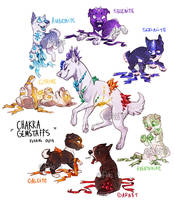 chakra gemstaffs - adoptable auctions - CLOSED by Fuki-adopts