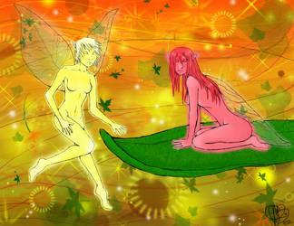 Fairies by BreakfastEndeavor