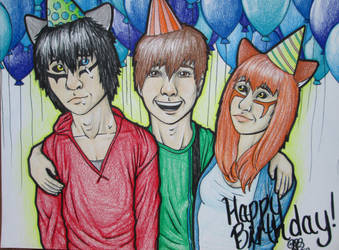 Happy Birthday Tressah19!!! by BreakfastEndeavor