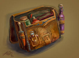 a bag by AlexanderKorolev