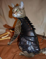 Cat Battle Armor by SavagePunkStudio