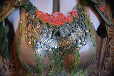 Briar Rose Elven Leather Armor by SavagePunkStudio