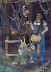 Ida Boa and Imp by SkiethWebb