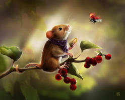 Mouse And Friend by Oana-D