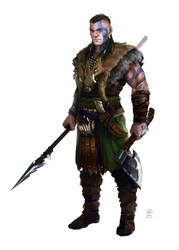 Barbarian nr.2 by Oana-D
