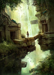 Tomb Raider- Underworld fan art by Oana-D