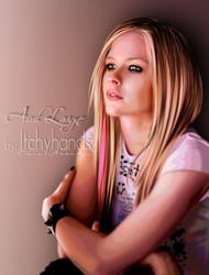 Avril Lavigne by itchyhands