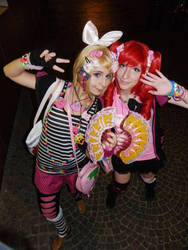 Rin and Teto - Decora style by ViviVampyre