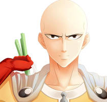 One Punch Man - Saitama by Sellenite