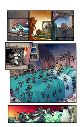 My First day page 8 in color :D by JDCalderon