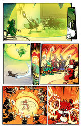 My First Day Page 23 color by JDCalderon