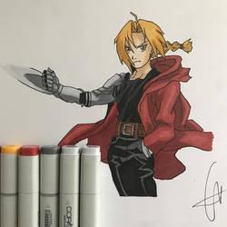 Edward Elric by Javiyoshi