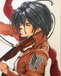 Mikasa by Javiyoshi
