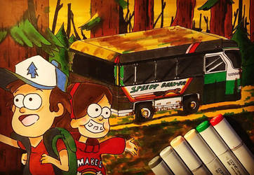 Welcome to Gravity Falls! by Javiyoshi