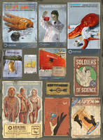 Portal Stories Mel Posters by Cyberworm360