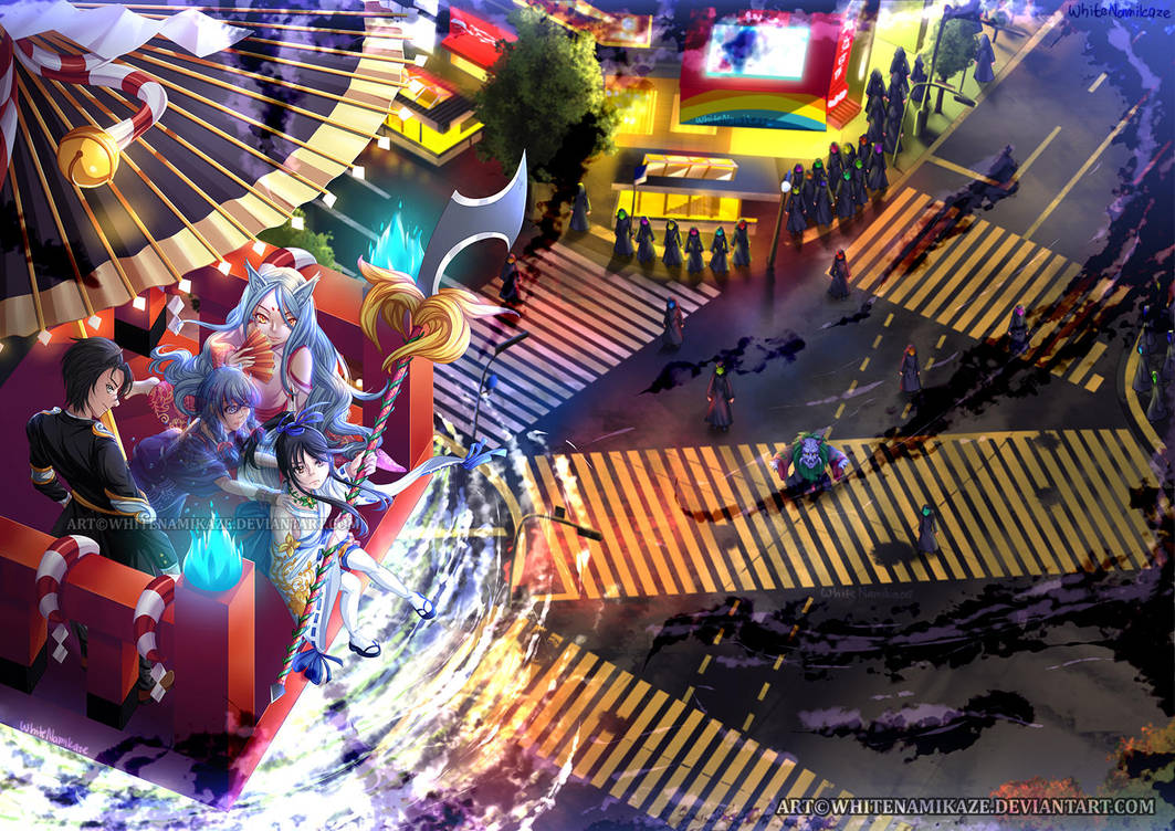 COMMISSION - Mouikkai Musume Mohitostsu Cover Art by WhiteNamikaze