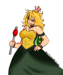 Queen Koopa by HikaTheCreator