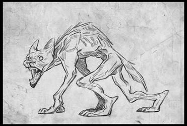 Loup Garou by ReineDesCanards